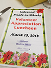 Volunteer luncheon for Lakewood Meals on Wheels - March 2018 photo 3