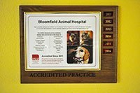 Bloomfield Animal Hospital Office AAHA