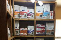 Bloomfield Animal Hospital Pet food storage